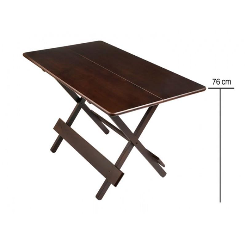 Mesa bar dobr vel 120x70 cm linha premium em madeira em for Mesa jardin 120 x 70