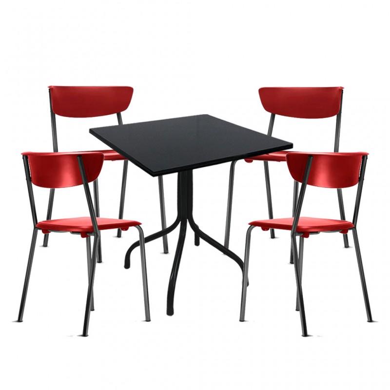 08193858a conjuntos-jogos-mesas-cadeiras-fixa-jantar-restaurante-refeitorio- ...