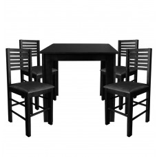 jogo-mesa-cadeiras-fixa-laguna-estofada-madeira-bar-cozinha-restaurante
