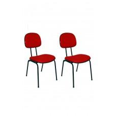 cadeira-secretaria-fixa-pe-palito-flex-vermelha