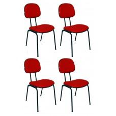 cadeira-secretaria-fixa-pe-palito-flex-vermelh